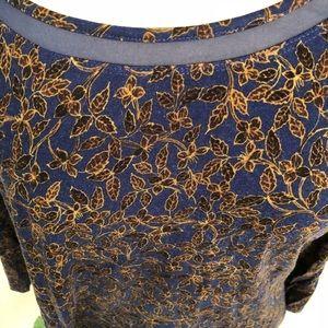 Ladies Liz Claiborne 3/4 Sleeve Top